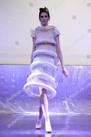 Editorial picture of Corrie Nielsen show, Spring Summer 2015, Paris Fashion Week, France - 23 Sep 2014