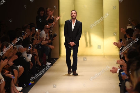 Editorial picture of Guy Laroche show, Spring Summer 2015, Paris Fashion Week, France - 24 Sep 2014