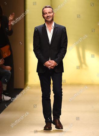 Editorial image of Guy Laroche show, Spring Summer 2015, Paris Fashion Week, France - 24 Sep 2014