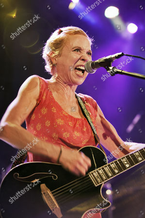Editorial photo of Throwing Muses in concert at Manchester Academy, Britain - 19 Sep 2014