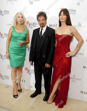 Amanda Nevill, Al Pacino, Lucila Sola