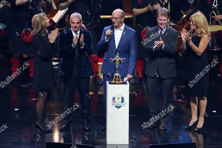 Editorial image of The 2014 Ryder Cup Gala Concert, The Hydro, Glasgow, Scotland, Britain - 24 Sep 2014