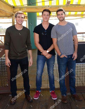 Shane Harper, Cameron Moulene, Ryan Rottman