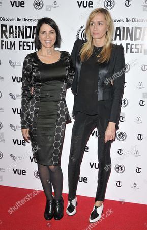 Sadie Frost and Emma Comley
