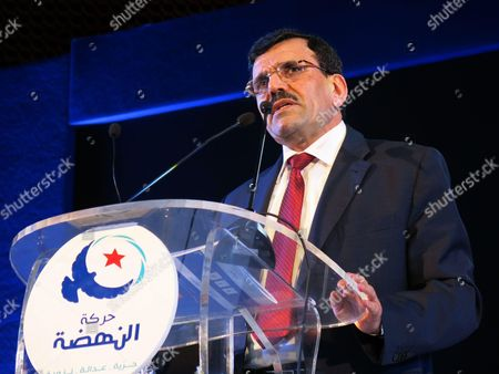 Former Tunisian Prime Minister and Ennahdha Islamist Party General Secretary, Ali Laarayedh