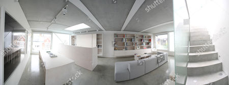 Interior of the Slip House, Brixton, London, England, Britain