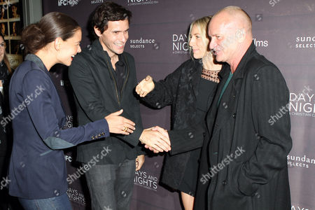 Editorial image of 'Days And Nights' film premiere, New York, America - 25 Sep 2014