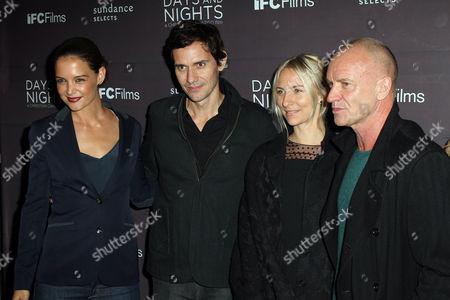 Stock Image of Katie Holmes, Christian Camargo, Mickey Sumner, Sting