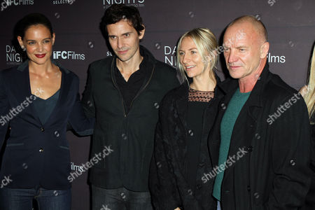 Stock Picture of Katie Holmes, Christian Camargo, Mickey Sumner, Sting