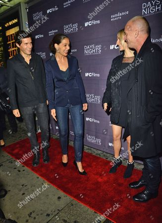 Christian Camargo, Katie Holmes, Mickey Sumner and Sting