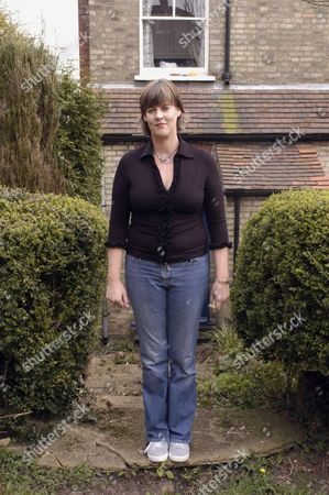 Editorial photo of JANE MILLIGAN, DAUGHTER OF SPIKE, AT HOME IN HIGH BARNET, LONDON, BRITAIN - 28 MAR 2003