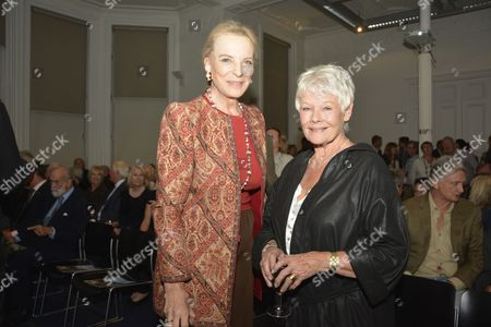 Princess Michael of Kent and Judi Dench