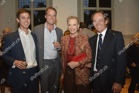 Princess Michael of Kent Patron and Tony Fitzjohn far right, Conservationist & Director in Chief of GAWPT.