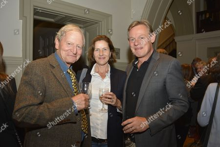 Stock Picture of Martin Clunes and GAWPT members