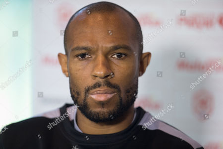 Cardiff City interim coach Danny Gabbidon faces the media ahead of Saturday's Championship match against Sheffield Wednesday