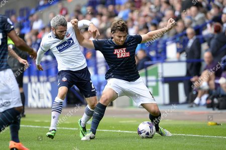 Editorial picture of Bolton Wanderers v Derby County, Sky Bet Championship Football, Reebok Stadium, Britain - 27 Sep 2014