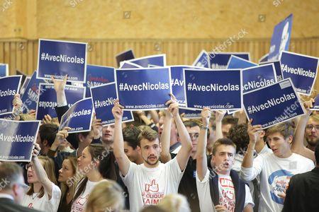 Nicolas Sarkozy supporters