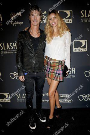 Duff McKagan and wife Susan Holmes McKagan