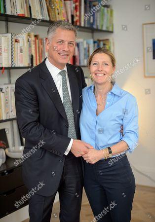 Stock Image of Nick Hofgren and Sophie Conran
