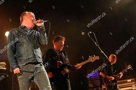 The Undertones - Paul McLoone (left), Michael Bradley (centre) and John O'Neill (right)
