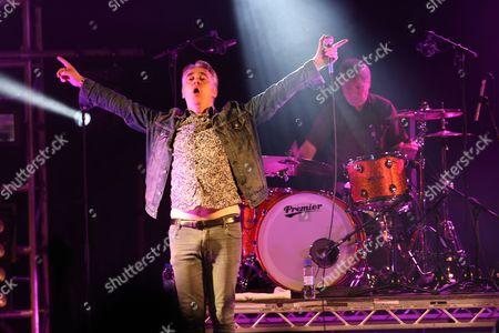 The Undertones - Paul McLoone (left) and Billy Doherty (right, drums)
