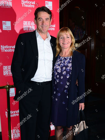 Editorial photo of 'Great Britain' play opening night at the Theatre Royal Haymarket, London, Britain - 26 Sep 2014