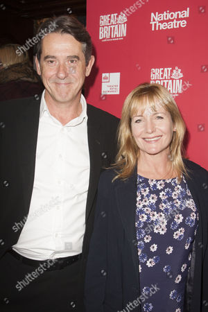 Adrian Lukis and Caroline Langrishe