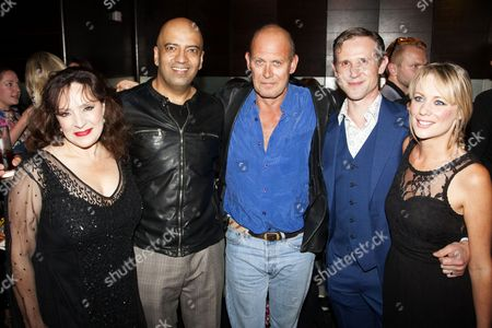 Harriet Thorpe (Nicola/Clarissa Kingston-Mills/Stella's Mum), Aaron Neil (Sully Kassam), Andrew Woodall (Mac MacManaman), Ian Hallard (Jimmy the Bins/St John) and Kellie Shirley (Gemma Charles/Stella Stone)