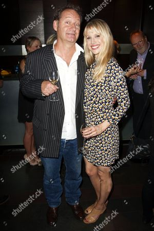 Richard Bean (Author) and Lucy Punch (Paige Britain)