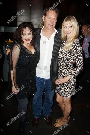 Harriet Thorpe (Nicola/Clarissa Kingston-Mills), Richard Bean (Author) and Lucy Punch (Paige Britain)