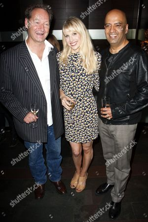 Richard Bean (Author), Lucy Punch (Paige Britain) and Aaron Neil (Sully Kassam)