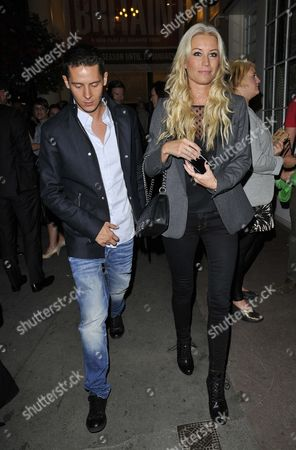 Christopher Parker and Denise Van Outen