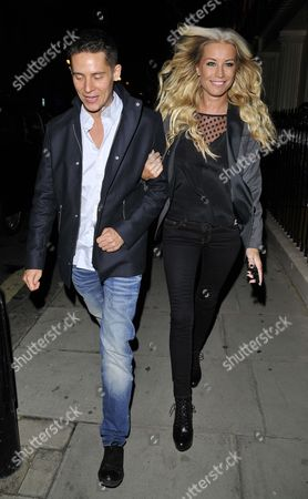 Stock Picture of Christopher Parker and Denise Van Outen