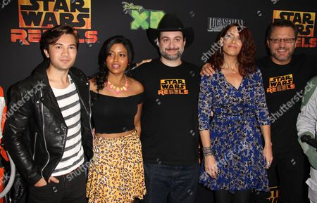 Editorial photo of 'Star Wars Rebels' Film Premiere, Los Angeles, America - 27 Sep 2014