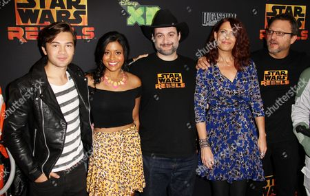 Editorial image of 'Star Wars Rebels' Film Premiere, Los Angeles, America - 27 Sep 2014