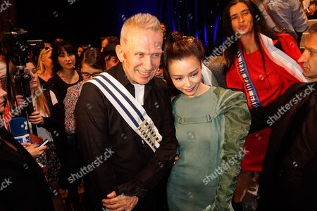 Jean Paul Gaultier and Janice Man