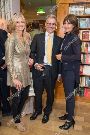 Clare Mountbatten, Charles Garthwaite and Lulu Hutley