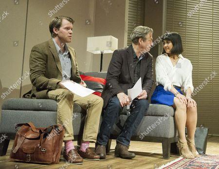 Oliver Hemborough as Douglas, Roger Allam as Leonard, Rebecca Grant as Izzy
