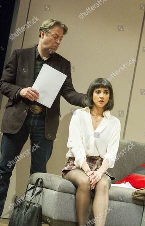 Roger Allam as Leonard, Rebecca Grant as Izzy