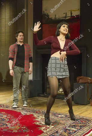 Bryan Dick as Martin, Rebecca Grant as Izzy