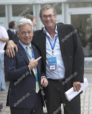 Alan Duncan MP and Lord Michael Ashcroft.