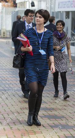 Stock Image of Chloe Smith MP.