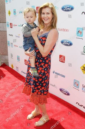 Christie Lynn Smith and son Joshua