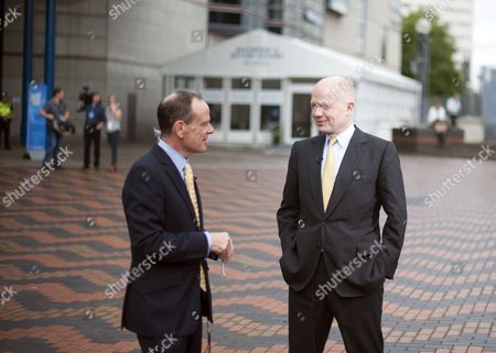 William Hague talks to Norman Smith of the BBC