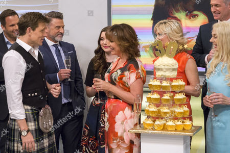 Ben Shephard, Ross Kelly, Rosie Smith, Lorraine Kelly, Anthea Turner, Dr Hilary Jones and Wincey Willis
