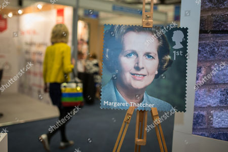Baroness Margaret Thatcher postage stamp as part of a set The Royal Mail are releasing on 14th October
