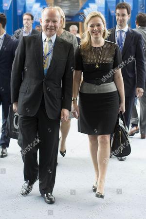 William Hague and Ffion Hague