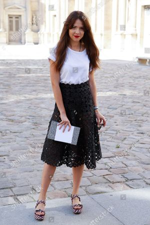 Editorial picture of Christian Dior show, Spring Summer 2015, Paris Fashion Week, France - 26 Sep 2014