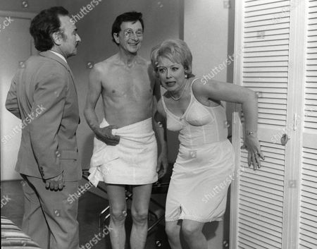Stock Picture of Kenneth Connor, Charles Hawtrey and June Whitfield