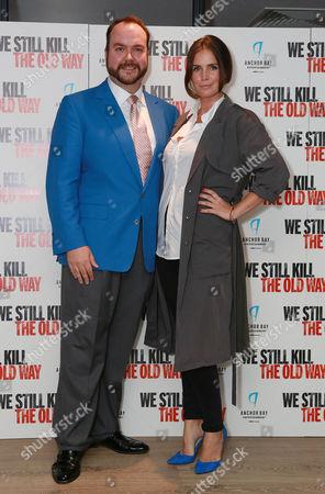 Stock Photo of Jonathan Sothcott and Lisa McAllistir